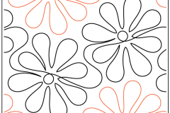 Apricot Moon's Daisy Doodles - $0.015/sq in